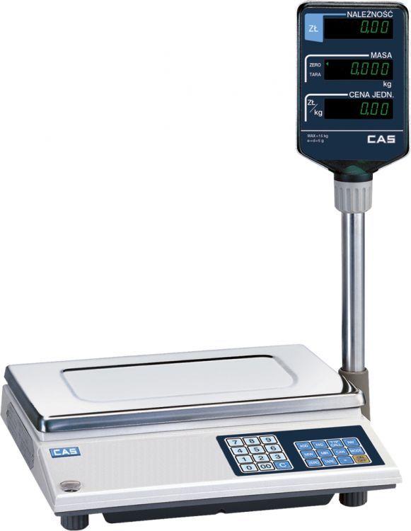 Waga sklepowa kalkulacyjna Cas AP 1 15 mx